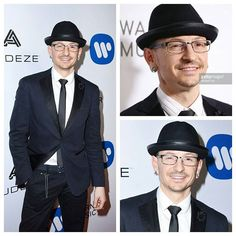 Chester at the Grammy after party. lp #chesterbennington #linkinpark