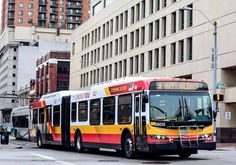 Baltimore MTA New Flyer articulated bus
