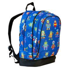 Wildkin Olive Kids Robots Sidekick Backpack // Target