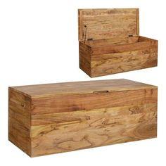 Muebles para el Hogar: Mueble Colonial   BAUL DE MADERA DE ACACIA DALAT