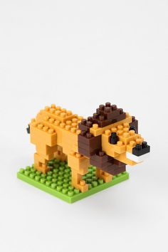 Nano Blocks - Lion  #UrbanOutfitters