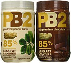 Powdered Peanut Butter - significantly less calories than regular peanut butter. Add to smoothies or make your own natural peanut butter. Pb2 Powdered Peanut Butter, Chocolate Peanut Butter, Detox Grocery List, Smoothie Proteine, Smoothies, Peanut Powder, Snacks List, Double Chocolate Chip Cookies, Recipes