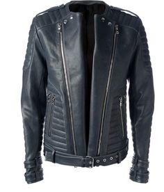 >> Click to Buy << Ceket Zipper Cotton 2016 Real Top Fashion Standard Leather Jacket Custom Simple Retro Embossed Punk Slim Locomotive Men Jackets  #Affiliate