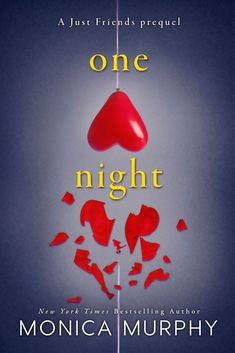One Night by New York Times bestselling author Monica Murphy is a #free young adult read! #teenbooks #freeread #youngadult #yaromance #ya Romance Authors, Romance Books, Night Book, Friends Series, Young Adult Fiction, Teen Romance, Novels To Read, Books For Teens, Ya Books