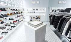 KITH With the rise of streetwear on the runways, it was only a matter of time before haute urban-gear retailer Kith opened a store just for the ladies.