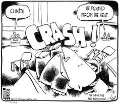 Thursday's Cartoon: The pope bowls Congress over - The Washington Post