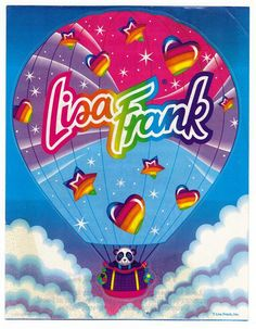 Caboodle box filled with lisa frank.who wants to trade? oh the memories.