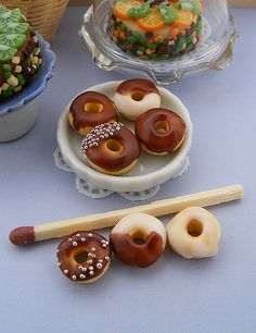 Chocolate Iced Doughnuts by Shay Aaron, via Flickr