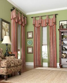 In Home Custom Window Treatments Made Curtains D
