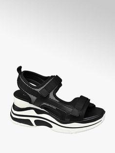 df6dc3d6ab156 Sandále na platforme značky Catwalk vo farbe čierna - deichmann.com