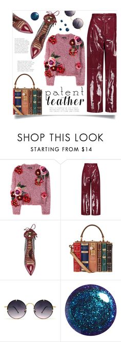 """Patent Leather"" by sonny-m ❤ liked on Polyvore featuring Dolce&Gabbana, Valentino, Paula Cademartori, Spitfire and patentleather"