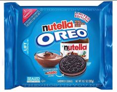 That sounds disgusting. I hate Nutella. Weird Oreo Flavors, Pop Tart Flavors, Cookie Flavors, Funny Food Memes, Food Humor, Oreos, Delicious Desserts, Yummy Food, Junk Food Snacks