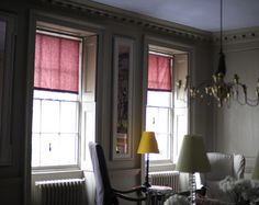 Marianna Kennedy bookcloth blinds