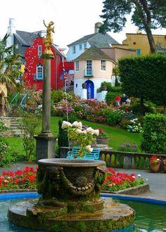 Image result for Portmerion Village in Gwynedd ted baker