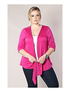 The prettiest pink cardigan from SWAK Designs :)