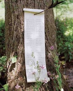 Seating Charts for Your Small Wedding – Earmark Social Bridgette S. Seating Charts for Your Small Wedding Scroll seating chart. Enchanted Forest Decorations, Enchanted Forest Wedding, Woodland Wedding, Rustic Wedding, Our Wedding, Wedding Ideas, Wedding Inspiration, Trendy Wedding, Elegant Wedding