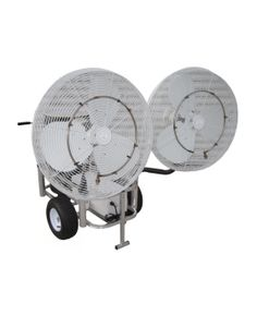 This Industrial Duty Misting Fan Combines Ultimate Cooling