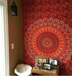 Bedspreads – Floral barmeri Gpsy bohemein wall tapestry – a unique product by INDIANTRADITIONAL on DaWanda