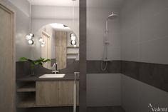 Projekt aranżacji wnętrza łazienki VALENT. Wiecej inspiracji, pomysłów na naszym blogu wnętrzarskim. Bathroom Lighting, Mirror, Furniture, Home Decor, Bathroom Light Fittings, Bathroom Vanity Lighting, Decoration Home, Room Decor, Mirrors