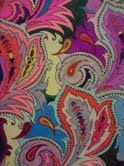 """""""Muddled paisleys"""" from Paisley designs to color, Dover pub. Gel pens, variety. 6/2012"""