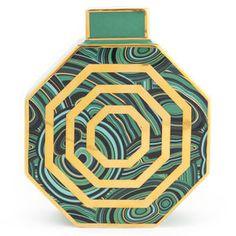 Jonathan Adler Malachite Oct Vase