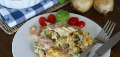 Tuna Noodle Casserole (Thunfischauflauf mit Nudeln)