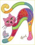 Кошечки расписные. Обсуждение на LiveInternet - Российский Сервис Онлайн-Дневников