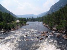 Quebec, Charlevoix region, Hautes-Gorges-de-la-Rivière-Malbaie National Park