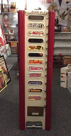 RARE Antique Arthur H. Dugrenier Inc. Haverhill MA 5c Candy Vending Machine   eBay