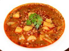 Hungarian Cuisine, Hungarian Recipes, Soap Recipes, Cooking Recipes, Barley Soup, Drying Pasta, Smoked Bacon, Chana Masala, Bon Appetit