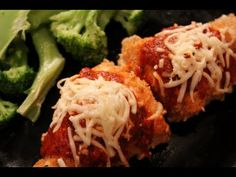 So for those people who don't know what eat for dinner that will be healthy and filling try this Parmesan chicken recipe