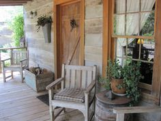 Easy to get this look for the country porch.~~ image only