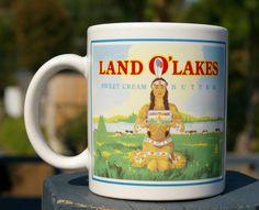 Land O'Lakes Sweet Cream Butter Coffee Mug Cup