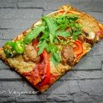 Glutenfreie Pizza  #vegan #glutenfrei #cleaneating #veganepizza #pizza