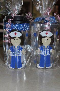 Personalized Nurse Acrylic Tumbler Gift~ ~