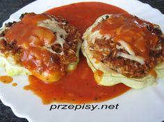 Patisony faszerowane - Przepisy kulinarne Alicji Tacos, Mexican, Beef, Dinner, Ethnic Recipes, Food, Gourd, Meat, Dining