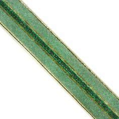 "5 yards 1"" WIDE 25mm Metallic Sheer Ribbon ORM02410"