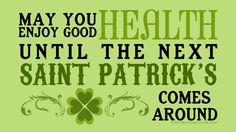happy saint patrick's day people!