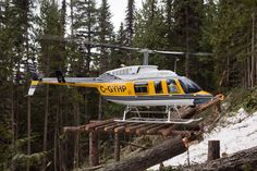 Canadian Bell 206 LongRanger helicopter, Photo : Bill CAMPBELL