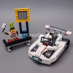 LEGO MOC 31107 Space Racer by Keep On Bricking | Rebrickable - Build with LEGO Lego Moc, Brick, Cars, Bricks, Autos, Car, Automobile