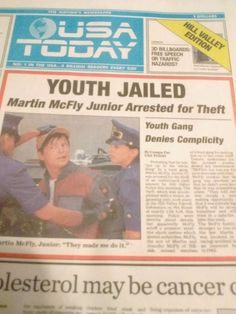 Lot of Two USA TODAY Back to the Future Issue OCTOBER 22 2015 Mcfly FF