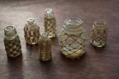 Lock and Spoon: New Crochet Bottles