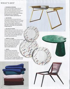 The gorgeous Berlin chair, Elle Decor, June 2016