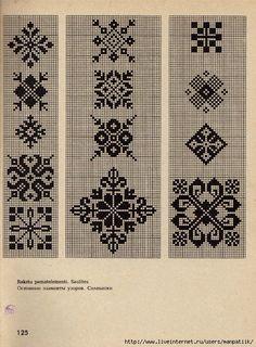 Latviešu tautiskie dūraiņu raksti - (Latvian folk ornaments) mittens. Discussion on LiveInternet - Russian Service Online Diaries