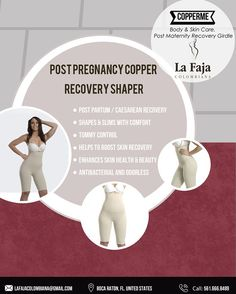 5084efdfd1 The only copper shaper available specially design to help mothers to  recover silhouette and skin from