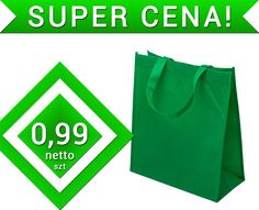 Torba wigofilowa zielona torebka 30x15x35cm OKAZJA