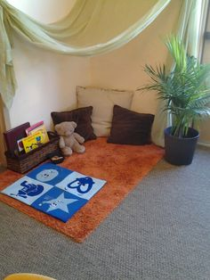 Safe space that integrates conscious discipline with a natural learning environment #consciousdiscipline