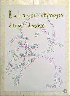 erkin gören, pen on paper, 2014, 70x100
