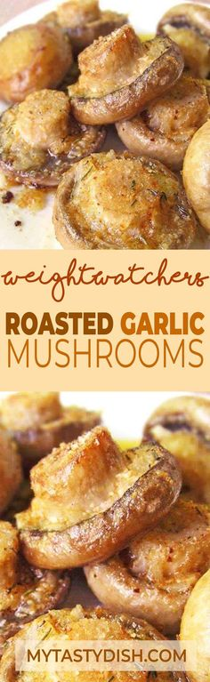 Ingredients: 16 even-sized open cup mushrooms, stalks cut level 3 tbsp olive or coconut oil c unsalted butter, softened 3 cloves garlic,. Side Dish Recipes, Yummy Recipes, Vegetable Recipes, Appetizer Recipes, Vegetarian Recipes, Cooking Recipes, Yummy Food, Healthy Recipes, Appetizers