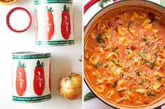 19 Quick And Easy Meals You'll Actually Want To Make Over And Over Again Indian Tomato Soup, Parmesan Soup, Roasted Red Pepper Soup, Pulled Pork Tacos, Pasta Soup, Wild Rice Soup, Stuffed Pepper Soup, Easy Soup Recipes, Soups And Stews